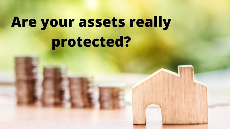 How do you protect your money and property?